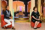 24日放送予定の「快傑えみちゃんねる」最終回の一場面。司会の上沼恵美子さん(右)と大平サブローさん