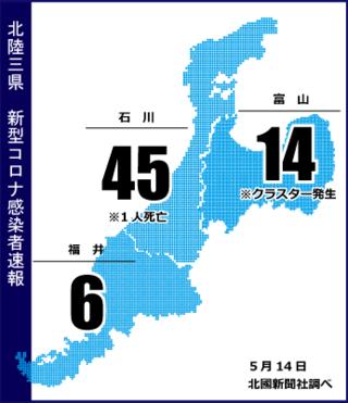 速報 コロナ 富山 県 コロナ感染の京産大生、富山で「村八分」「父親失職」「家に投石」情報はデマだったのか?