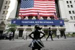 ニューヨーク証券取引所=2020年7月(AP=共同)