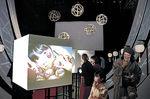 珠姫の心情を表現した空間芸術作品=金沢21世紀美術館