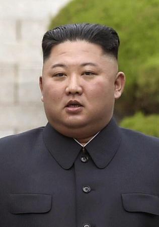 北朝鮮の金正恩朝鮮労働党委員長(AP=共同)