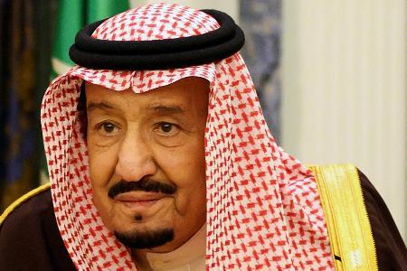 サウジアラビアのサルマン国王=2019年1月、リヤド(ロイター=共同)