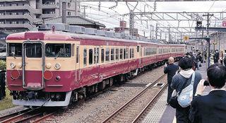 七尾線旧車両、新潟へ 「トキめき鉄道」観光列車に 廃車免れ 国鉄色に ...