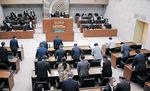 16日間の会期を終えた高岡市議会6月定例会=市議会議場
